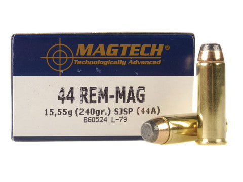 Magtech 44 Magnum 240 Grain Jacketed Soft Point (50pk)