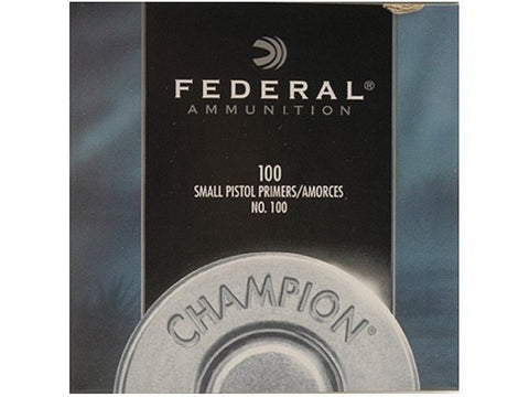 Federal Small Pistol Primers #100 (100pk)