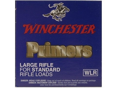 Winchester Large Rifle Primers #8-1/2 (100pk)