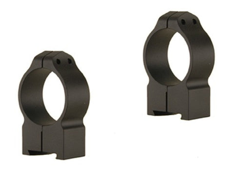 Warne Permanent-Attachable Ring Mounts CZ 550, BRNO 602 (19mm Dovetail) 30mm High Matte