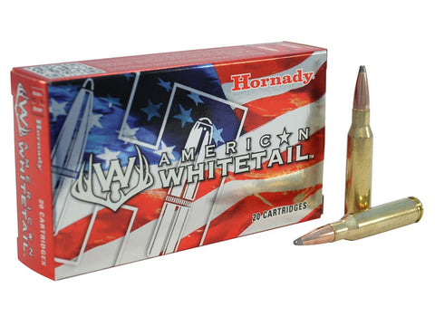 Hornady American Whitetail Ammunition 7mm-08 Remington 139 Grain Interlock Spire Point (20pk)