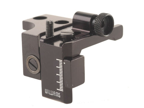 Williams Receiver Peep Sight for New Model Marlin Centerfire Lever Action with Factory Scope Mount Holes
