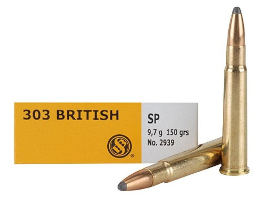 Sellier & Bellot 303 British 150 Grain Soft Point (20pk)