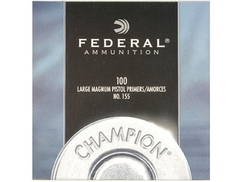 Federal Large Pistol Magnum Primers #155 (100pk)