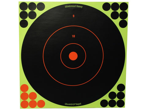 "Birchwood Casey Shoot-N-C Targets 12"" Round with 288 Pasters (12pk)"