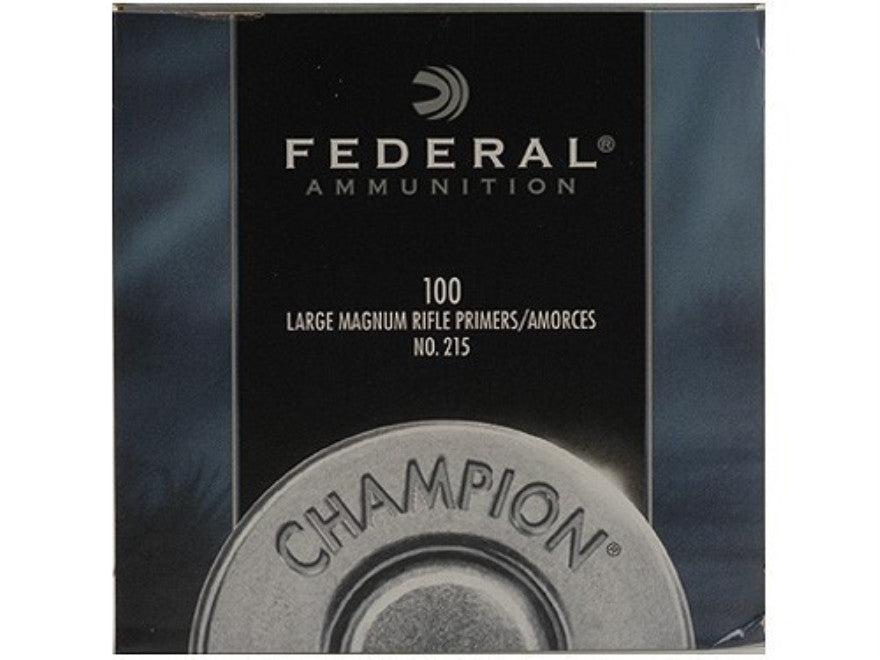 Federal Large Rifle Magnum Primers #215 (100pk)