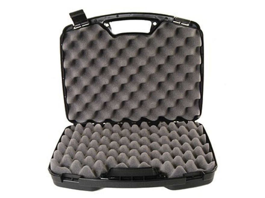"MTM Double Handgun / Pistol Case 15.5""x12.2""x3.6"" Black"