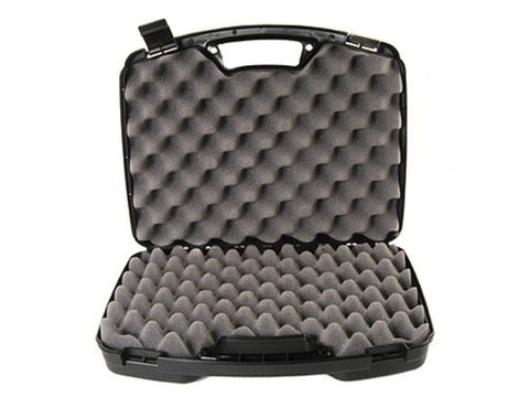 "MTM Double Pistol Case 15.5""x12.2""x3.6"" Black"