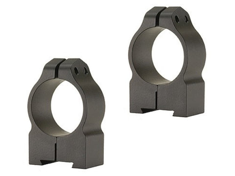 "Warne 1"" Permanent-Attachable Ring Mounts Tikka Medium Matte"