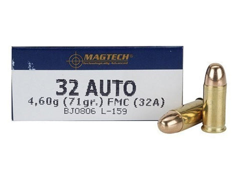 Magtech 32 Auto 71 Grain Full Metal Jacket (50pk)