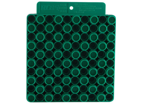 RCBS Universal Loading Block / Reloading Tray 50-Round Plastic Green