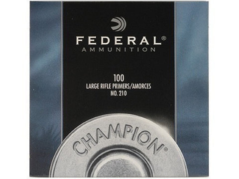 Federal Large Rifle Primers #210 (100pk)