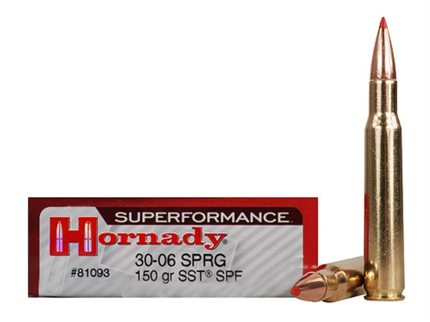 Hornady Superformance SST Ammunition 30-06 Springfield 150 Grain SST (20pk)