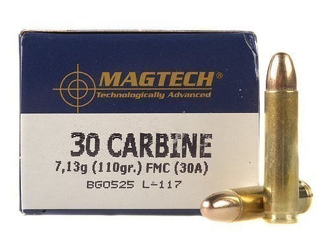 Magtech 30 Carbine 110 Grain Full Metal Jacket (50pk)