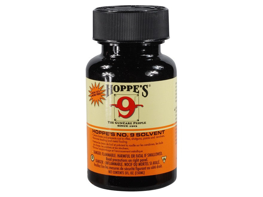 Hoppe's #9 Bore Cleaning Solvent Liquid Small 5oz