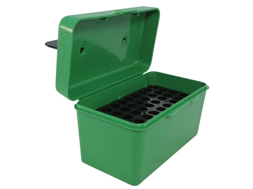 MTM Deluxe Flip-Top Ammo Box with Handle 22-250 Remington, 243 Winchester, 308 Winchester 50-Round