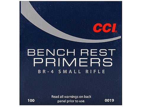 CCI Small Rifle Bench Rest Primers #BR4 (100pk)