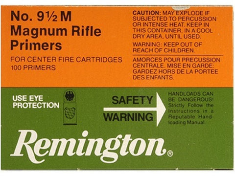 Remington Large Rifle Magnum Primers #9-1/2M (100pk)