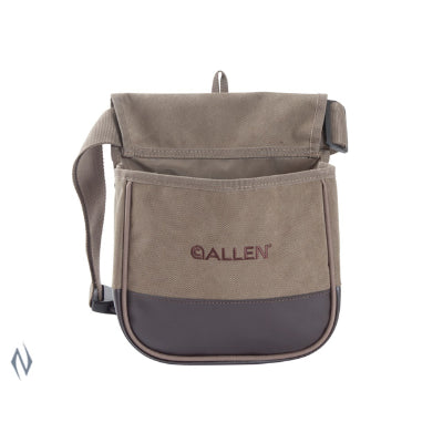 Allen Select Canvas Double Shot Shell Pouch with Adjustable Belt