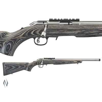 New Ruger American Target  Stainless 22 Long Rifle (22LR) (25374)