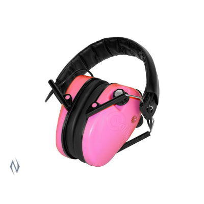 Caldwell Pink E-Max Low Profile Electronic Earmuffs