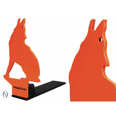 "Champion .22 Rimfire Steel Pop-Up Target Howling Coyote (44885) - <font color=""red"">NOT IN STOCK</font>"