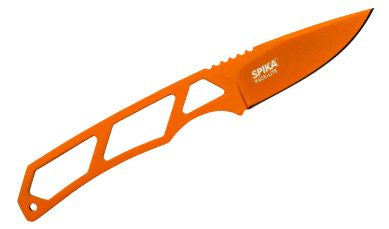 Spika Pack Light Fixed Blade Orange without Paracord (SPL-111)