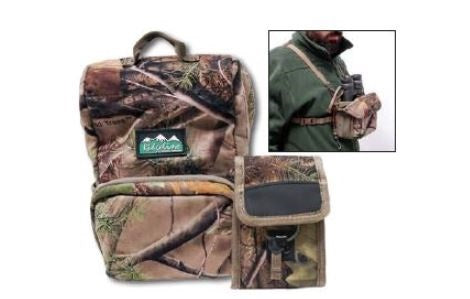 Ridgeline Recon Bino Case Binocular Harness Nature Green (RLAPHRBNG)