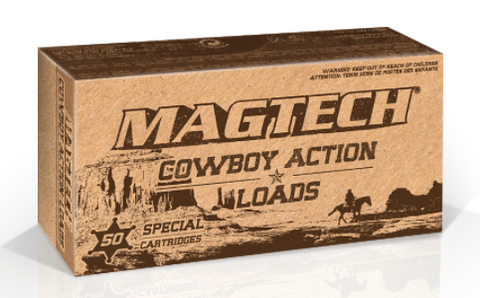 Magtech 357 Magnum 158 Grain Lead Flat Nose Cowboy Action Loads (50pk)