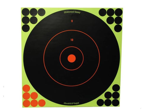 "Birchwood Casey Shoot-N-C Targets 12"" Round with 120 Pasters (5pk)"