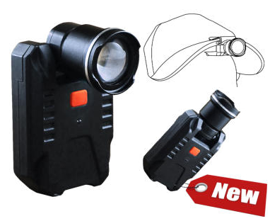 Dog Box Rechargeable Focusing Cap Light & Torch