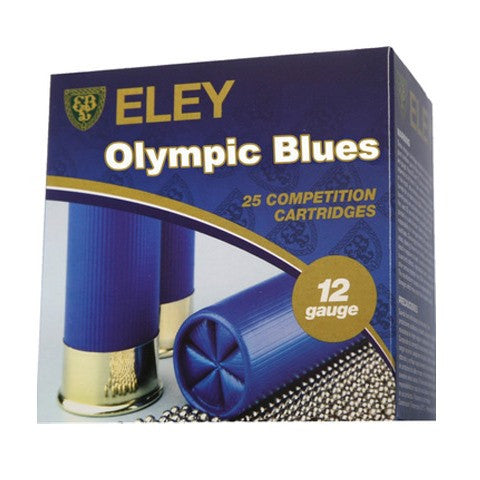 "Eley Olympic Blues Fibre Wad 12 Gauge 2-3/4"" 28 Gram #7-1/2 Shot (25pk)"