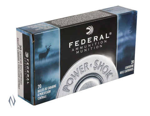 Federal Power-Shok Ammunition 30-30 Winchester 125 Grain Jacketed Hollow Point (20pk)