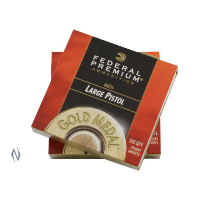 Federal Premium Gold Medal Large Pistol Match Primers #150M (100pk)