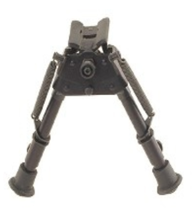 "Harris S-BR Swivel Bipod with Stud Mount 6"" to 9"" Friction"