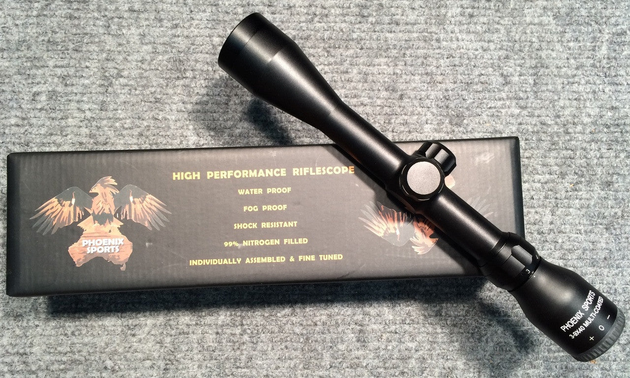 Phoenix 3-9x40 Rifle Scope