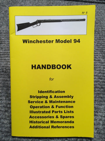 """Winchester Model 94 Handbook"" No 8 by Ian Skennerton"
