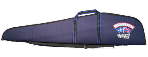 Rebel Gun Works Blue Extra Wide Soft Gun Bag 52""