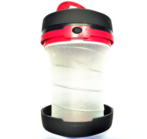 Dog Box Pop-Up LED Lantern Red