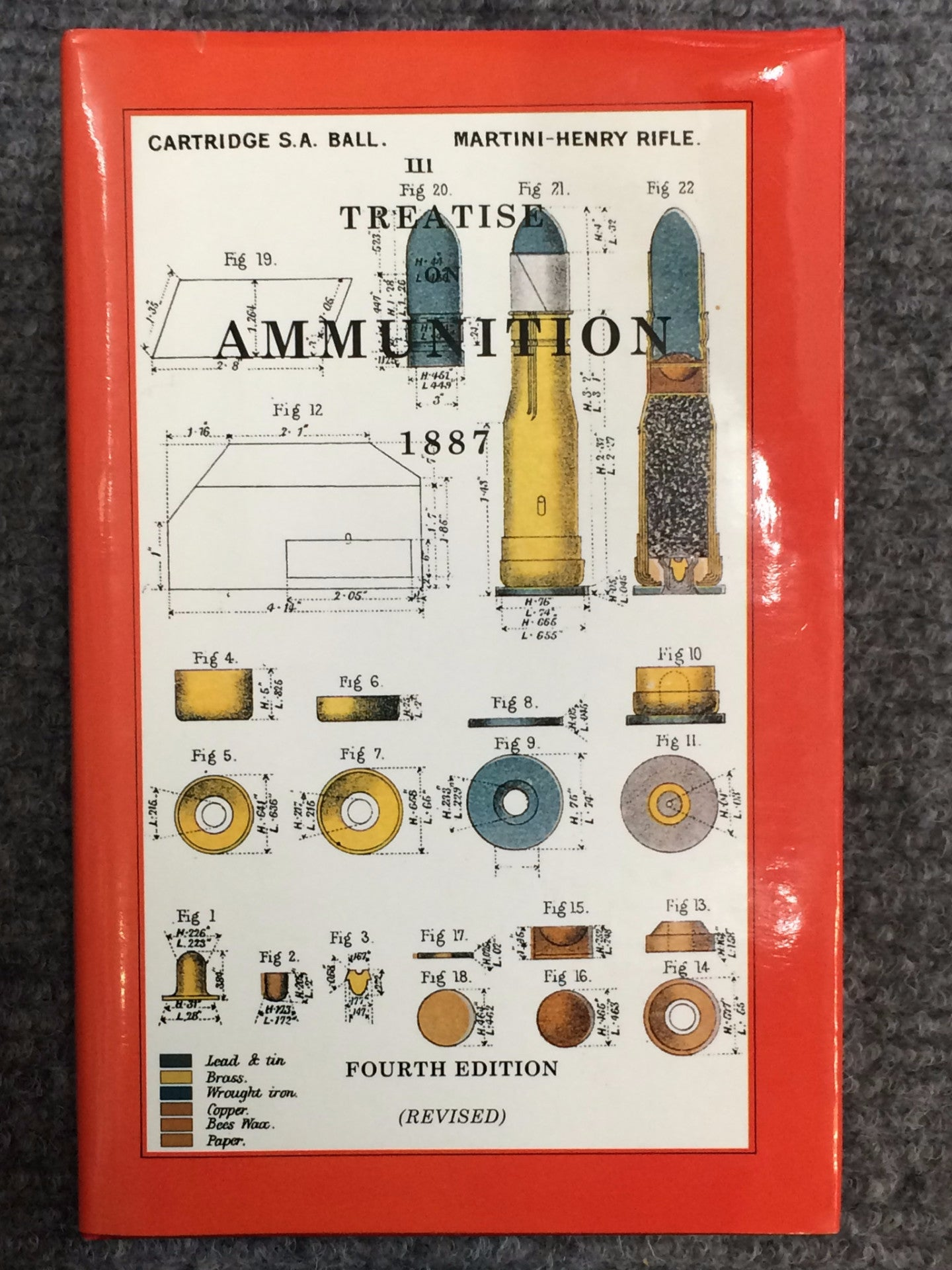 Treatise on Ammunition 1887
