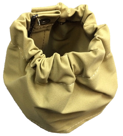 """Ripper"" Canvas Gaiters with Velcro and Buttons Large"