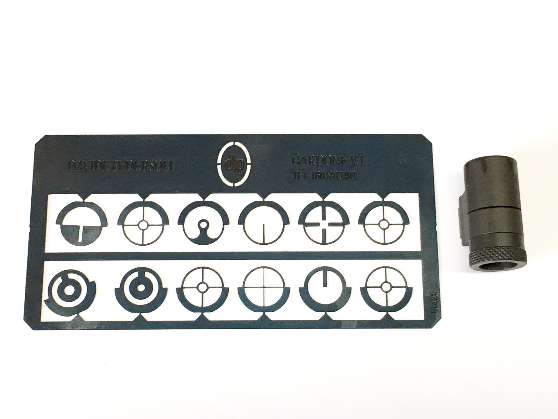 Pedersoli Tunnel Sight with 12 Inserts