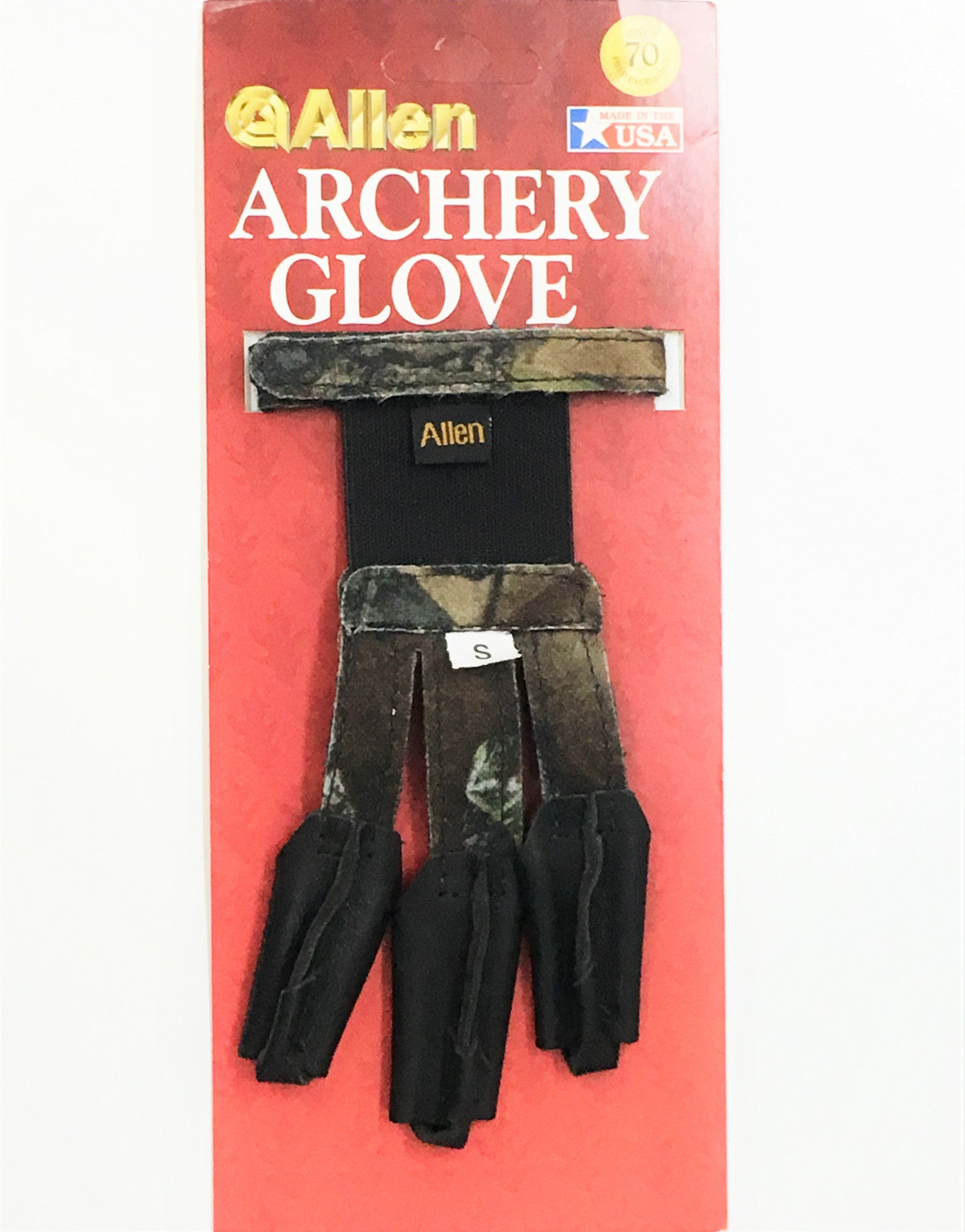 Allen Camo Archery Glove Small - PN