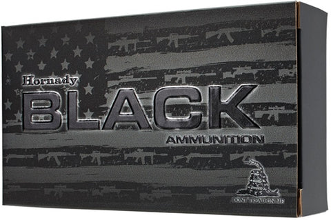 Hornady Black Ammunition 300 Blackout 110 Grain V-Max (20pk)