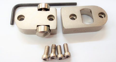 Used Burris 2-Piece Base to Suit Browning A-Bolt Nickel (SPART1786)