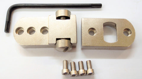 Used Burris 2-Piece Base to Suit Remington 700, Sauer 101, Vanguard, Howa Nickel (SPART1777)