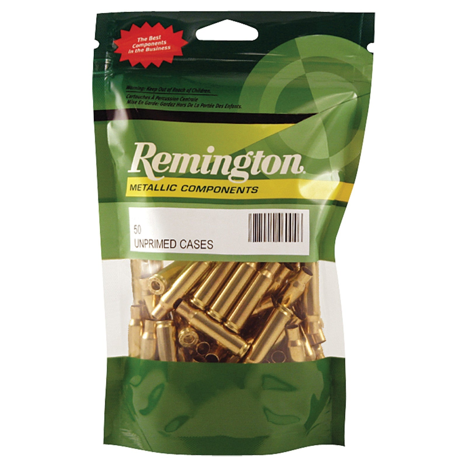 Remington Unprimed Brass Cases 7MM Remington Ultra Magnum (50pk) (22870)