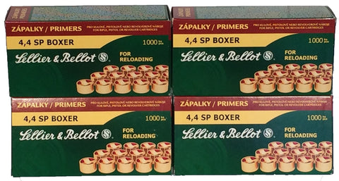 Sellier & Bellot Small Pistol Primers (100pk)
