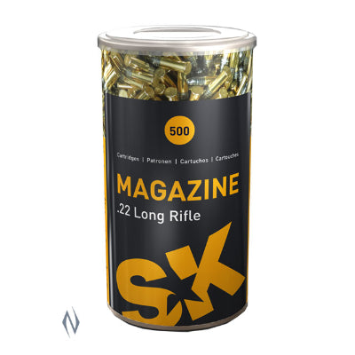 SK Magazine Subsonic Ammunition 22 Long Rifle (22LR) 40 Grain Solid Point (500pk)