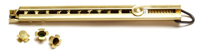Ted Cash Brass Straight Line Musket Rifle Capper for Flanged caps (TDC-SLMC)
